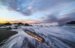 Sonnenaufgang in Island lizenzfreie stockbilder