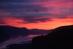 Sonnenaufgang-Kronen-Punkt 2 Lizenzfreies Stockfoto