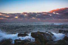 Sonnenaufgang lamndscape Lizenzfreies Stockfoto