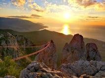 Sonnenaufgang lanscape Lizenzfreies Stockfoto