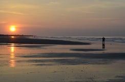 Sonnenaufgang-Liebhaber Stockfotografie
