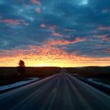 Sonnenaufgang-Lied Lizenzfreie Stockfotos