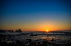 Sonnenaufgang in Lissabon Stockfotografie