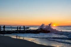 Sonnenaufgang Manasquan NJ Stockfotografie