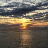 Sonnenaufgang-Meerblick Lizenzfreies Stockfoto