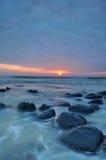 Sonnenaufgang-Meerblick Stockfotografie