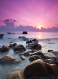 Sonnenaufgang-Meerblick Lizenzfreie Stockfotos