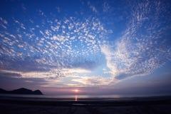Sonnenaufgang in Mersing Lizenzfreie Stockbilder