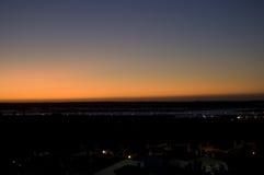 Sonnenaufgang mit Seeansichten Lizenzfreie Stockfotografie