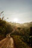 Sonnenaufgang morgens lizenzfreie stockbilder