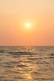 Sonnenaufgang morgens Stockfoto