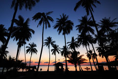 Sonnenaufgang, MU Ko Angthong Island3 Lizenzfreie Stockfotos