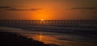 Sonnenaufgang Mytrle-Strand stockfoto