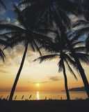Sonnenaufgang in Nha Trang Stockbilder
