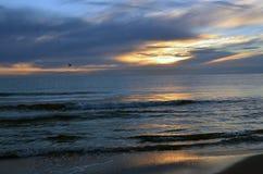Sonnenaufgang in Ostsee Stockfotografie