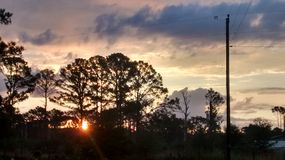 Sonnenaufgang in Paige lizenzfreies stockbild