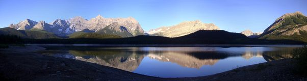 Sonnenaufgang-Panorama Lizenzfreie Stockfotos