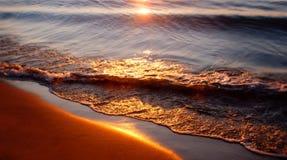 Sonnenaufgang-Reflexion Stockbilder