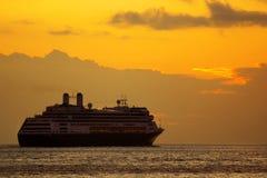 Sonnenaufgang-Reiseflug Lizenzfreies Stockfoto