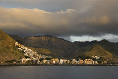 Sonnenaufgang in San Andres Tenerife Stockfotografie
