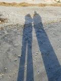 Sonnenaufgang-Schatten Lizenzfreie Stockfotografie
