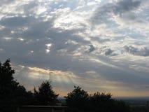 Sonnenaufgang in Serbien Lizenzfreie Stockbilder