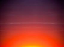 Sonnenaufgang-Sonnenuntergang-Auszugs-Himmel-Hintergrund, Farben Stockfoto