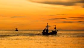 Sonnenaufgang am Strand Lizenzfreies Stockbild