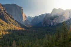 Sonnenaufgang am Tal von Yosemite Lizenzfreie Stockfotos