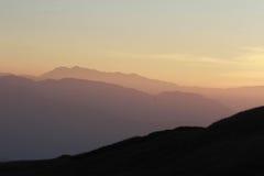 Sonnenaufgang-Tapete Lizenzfreie Stockbilder