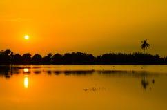 Sonnenaufgang Thailand Stockbilder