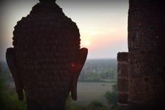 Sonnenaufgang in Thailand stockbild
