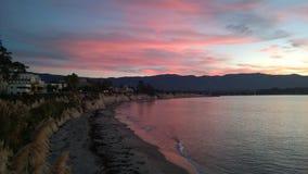 Sonnenaufgang an UCSB Lizenzfreie Stockbilder