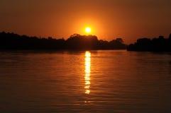Sonnenaufgang Vaal 10 Lizenzfreie Stockfotos