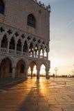 Sonnenaufgang in Venedig Stockbilder