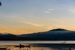 Sonnenaufgang in Vietnam lizenzfreies stockbild
