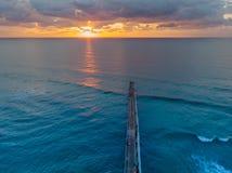 Sonnenaufgang vom Brummen lizenzfreie stockfotos