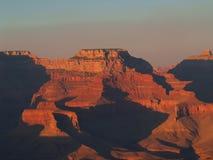 Sonnenaufgang vom Hopi-Punkt stockbilder