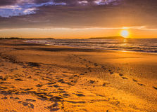 Sonnenaufgang Windang-Insel lizenzfreie stockfotografie