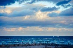Sonnenaufgang am Wintertag Alex Lizenzfreie Stockfotos