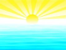 Sonnenaufgangabbildung Stockfotografie
