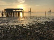 Sonnenaufgangansicht lizenzfreie stockfotografie