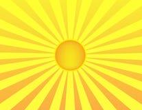 Sonnenaufganghintergrund Lizenzfreie Stockfotos