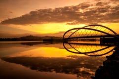 Sonnenaufganglandschaft Stockfotografie