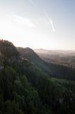 Sonnenaufganglichter lizenzfreie stockfotos