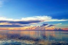 Sonnenaufgangmalerei Lizenzfreie Stockbilder