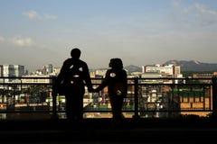 Sonnenaufgangmorgen an Naksan-Park Stockbilder