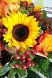 Sonnenblume-Blumenstrauß Lizenzfreies Stockfoto