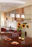 Sonnenblume `s Küche Stockbild