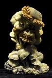 Sonnenblume - Steinschnitzen Lizenzfreies Stockfoto